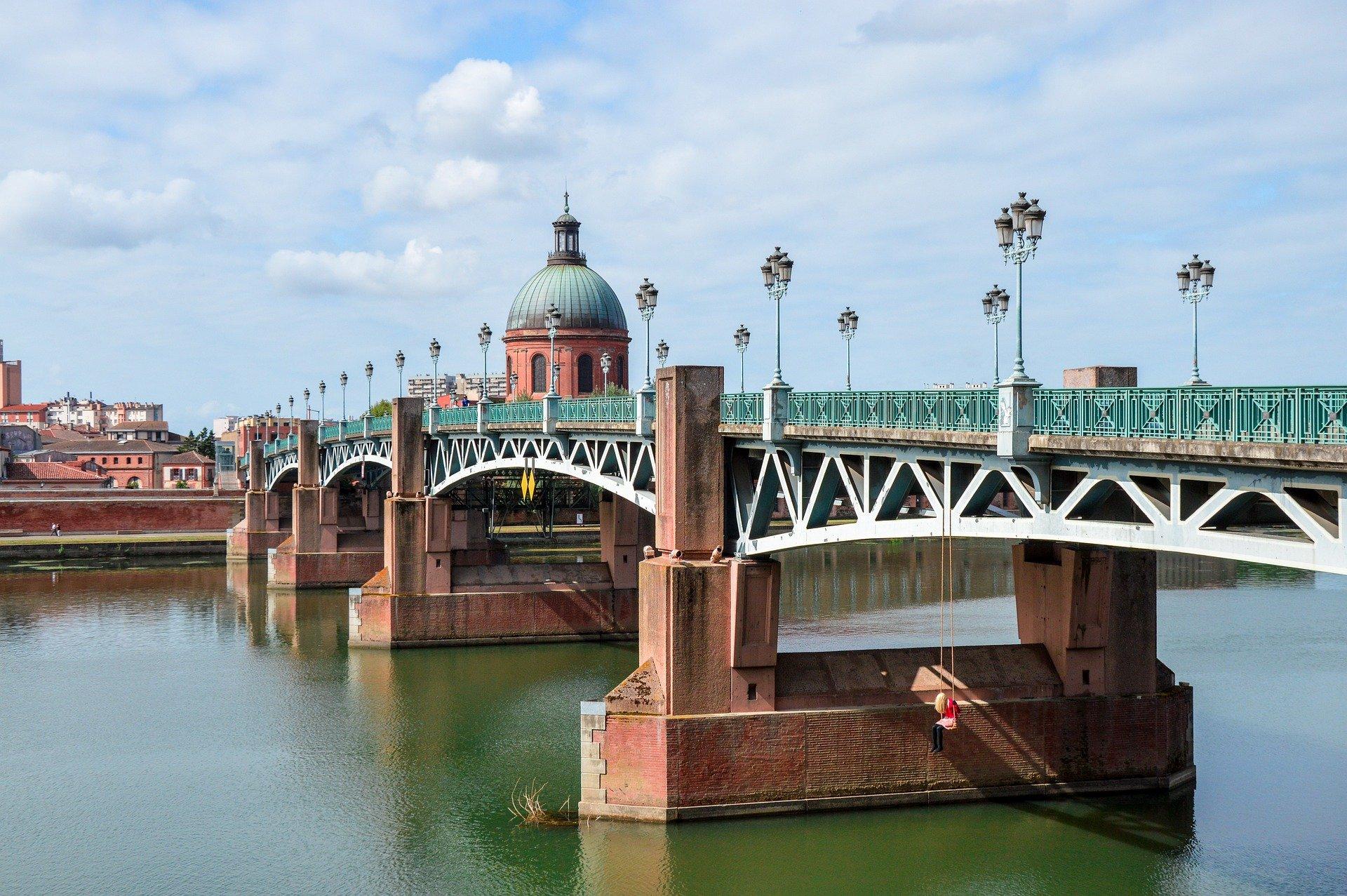 Pont Saint Pierre, Toulouse